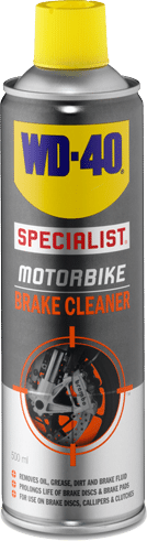 wd40 motorbike brake cleaner