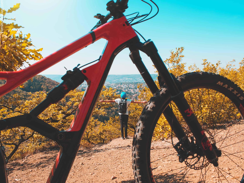 bicikli útvonal