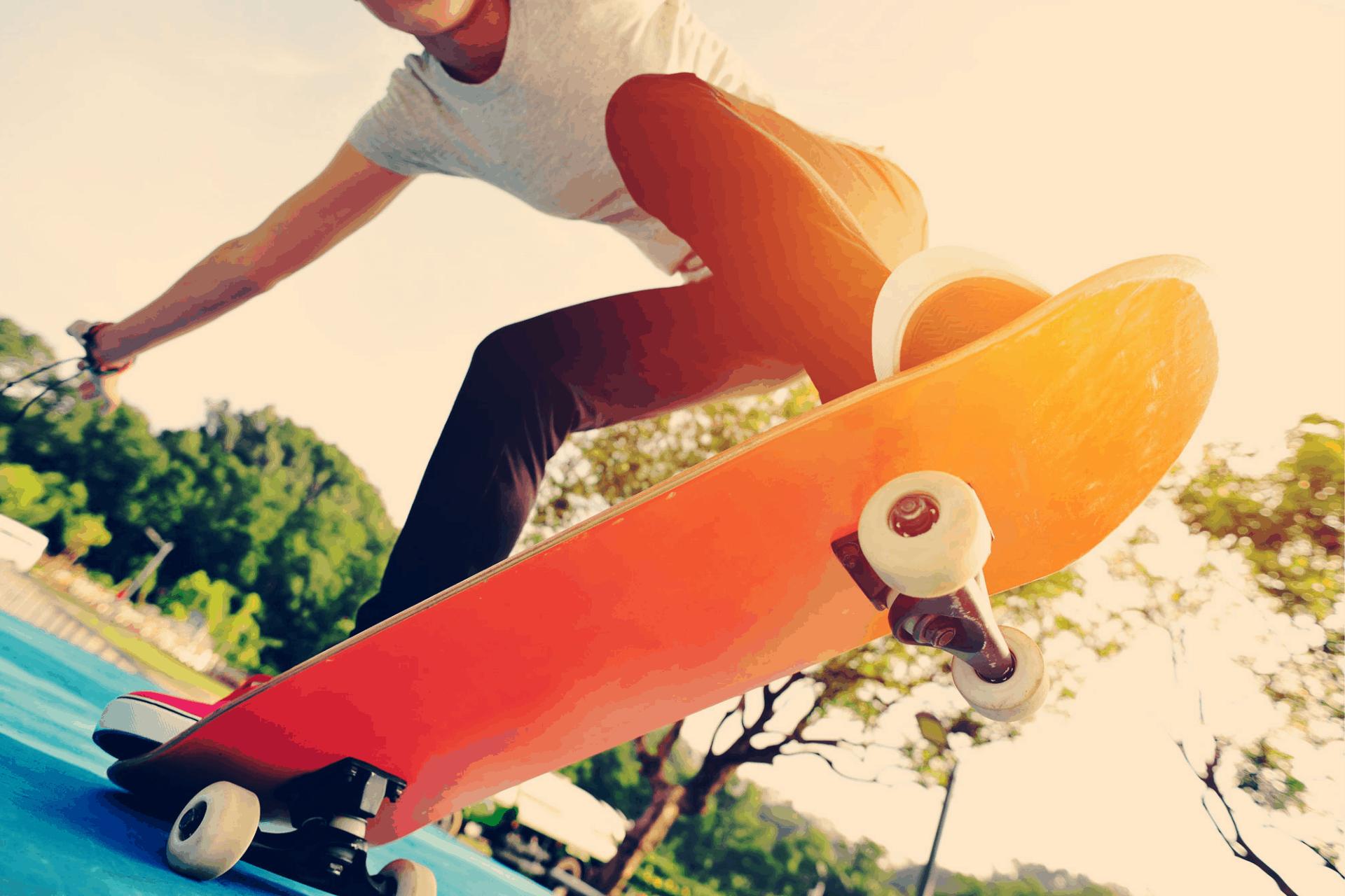 vedligeholdelse på dit skateboard