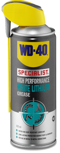 wd40 high performance white lithium
