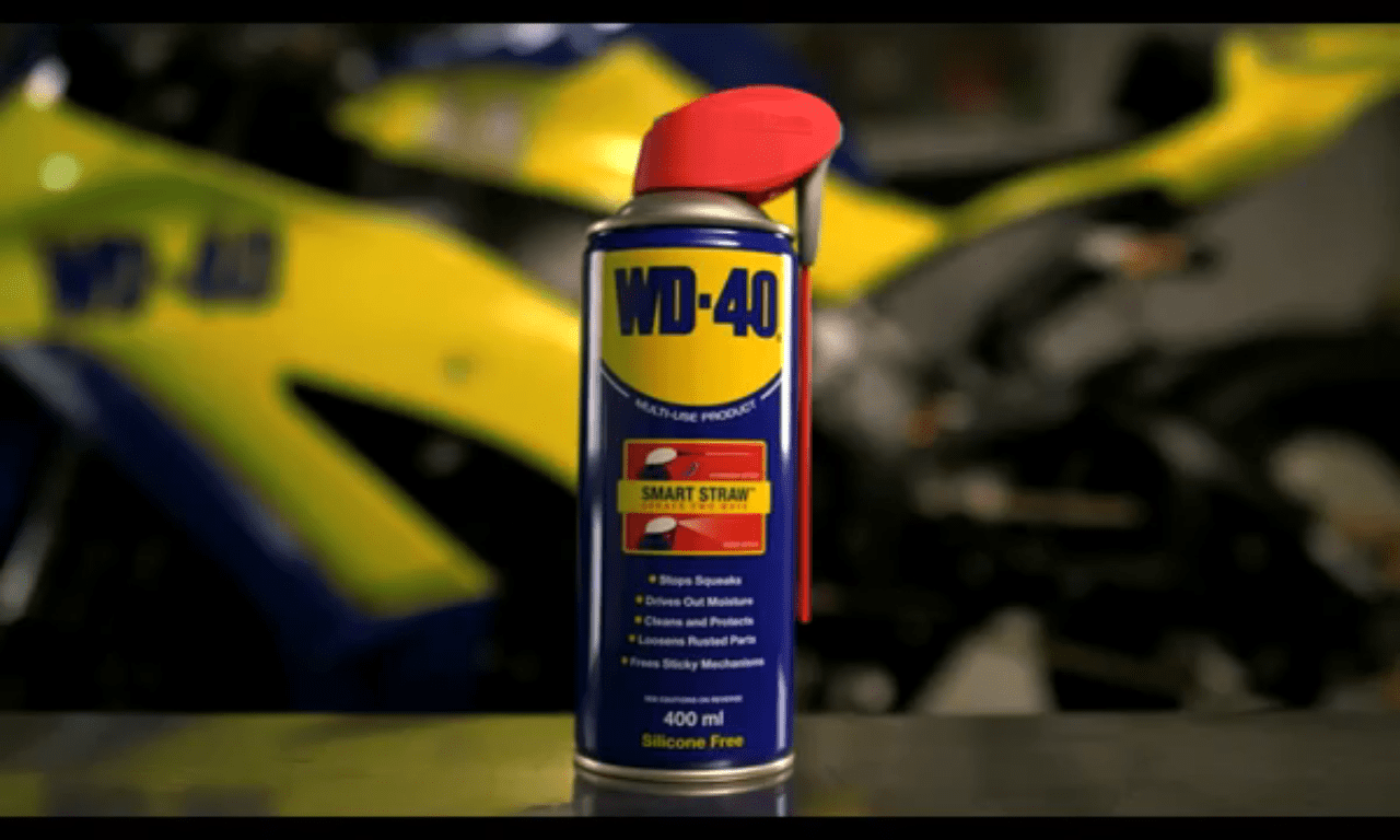 wd40 multi purpose motorbike