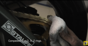 pulire catena