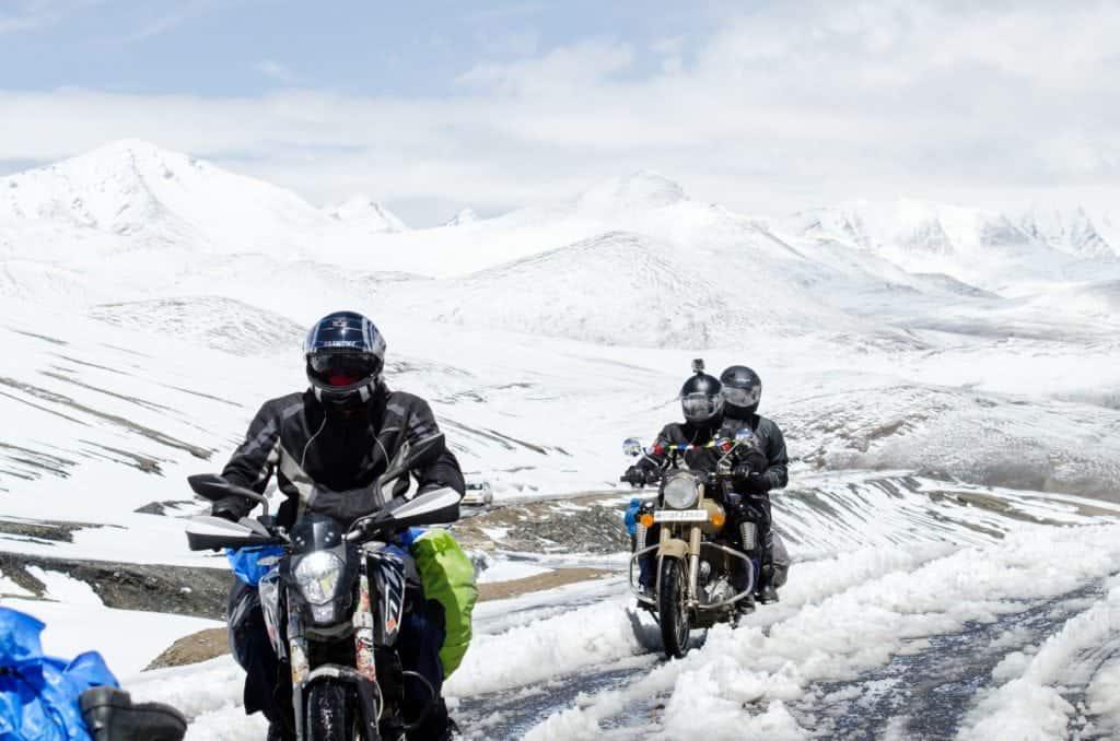 Come prendersi cura della propria moto durante l'inverno