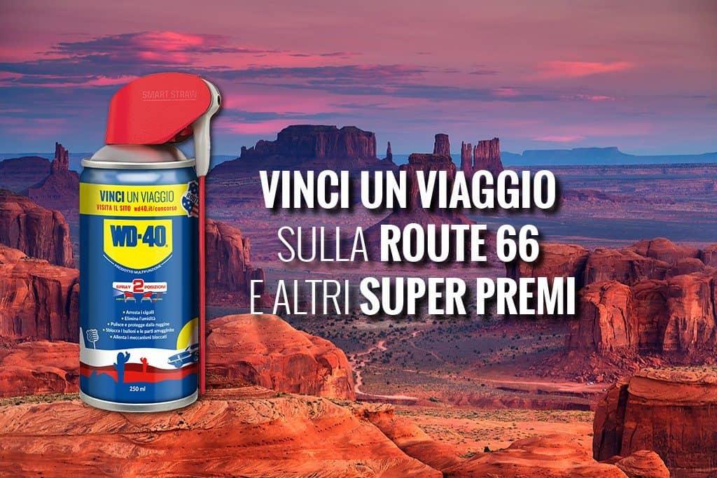 Vola in America con WD-40 per attraversare leggendaria Route 66!