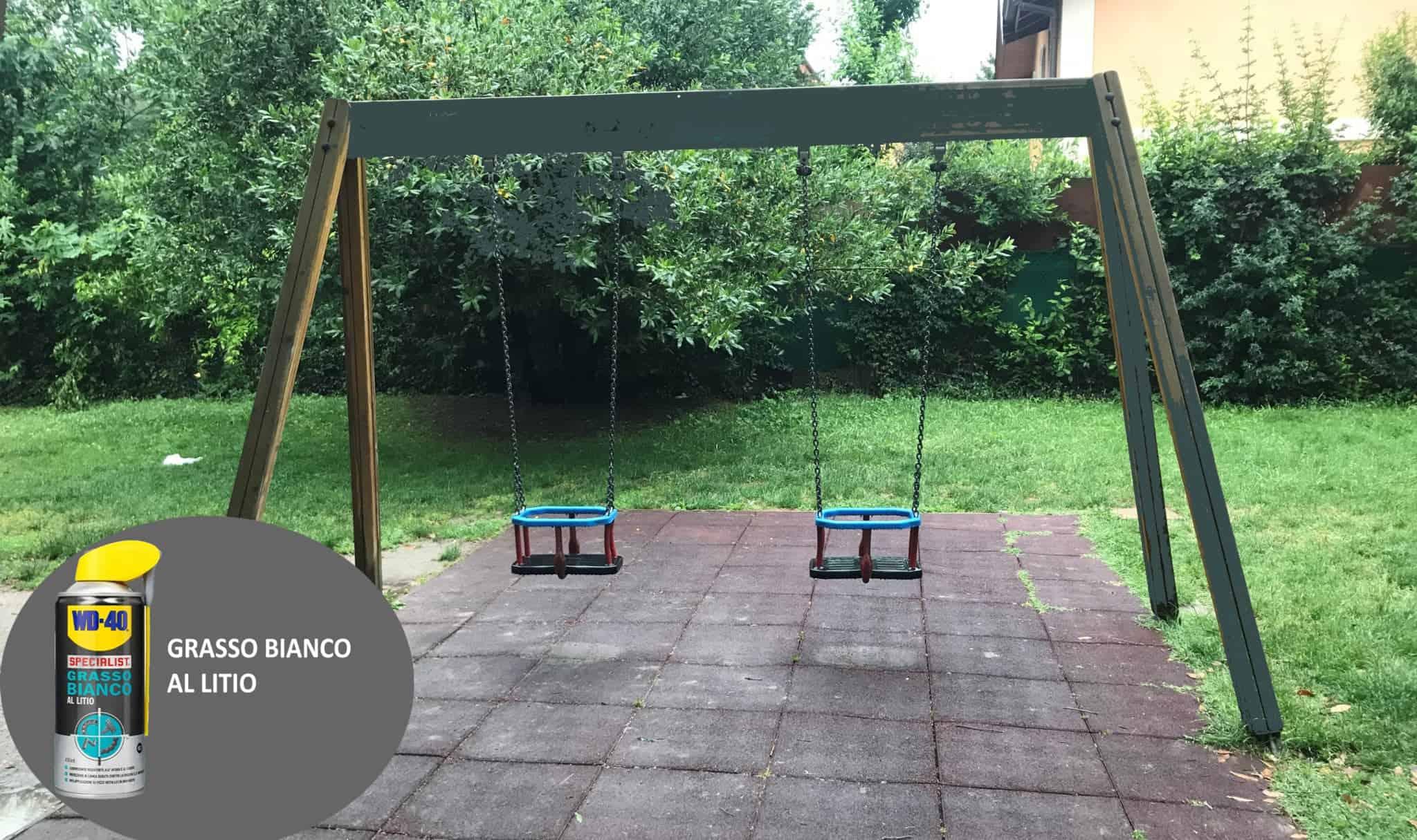 Giochi Da Fare In Giardino come fare la manutenzione dei giochi da giardino - wd-40 italia