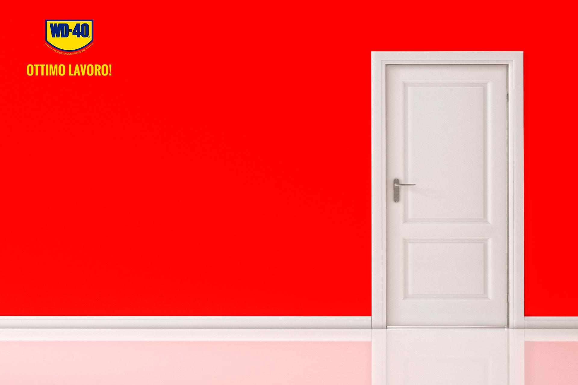 come eliminare il cigolio della porta