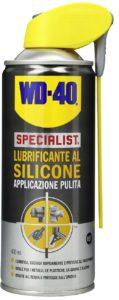 Lubrificante Silicone Spray: proprietà ed utilizzi