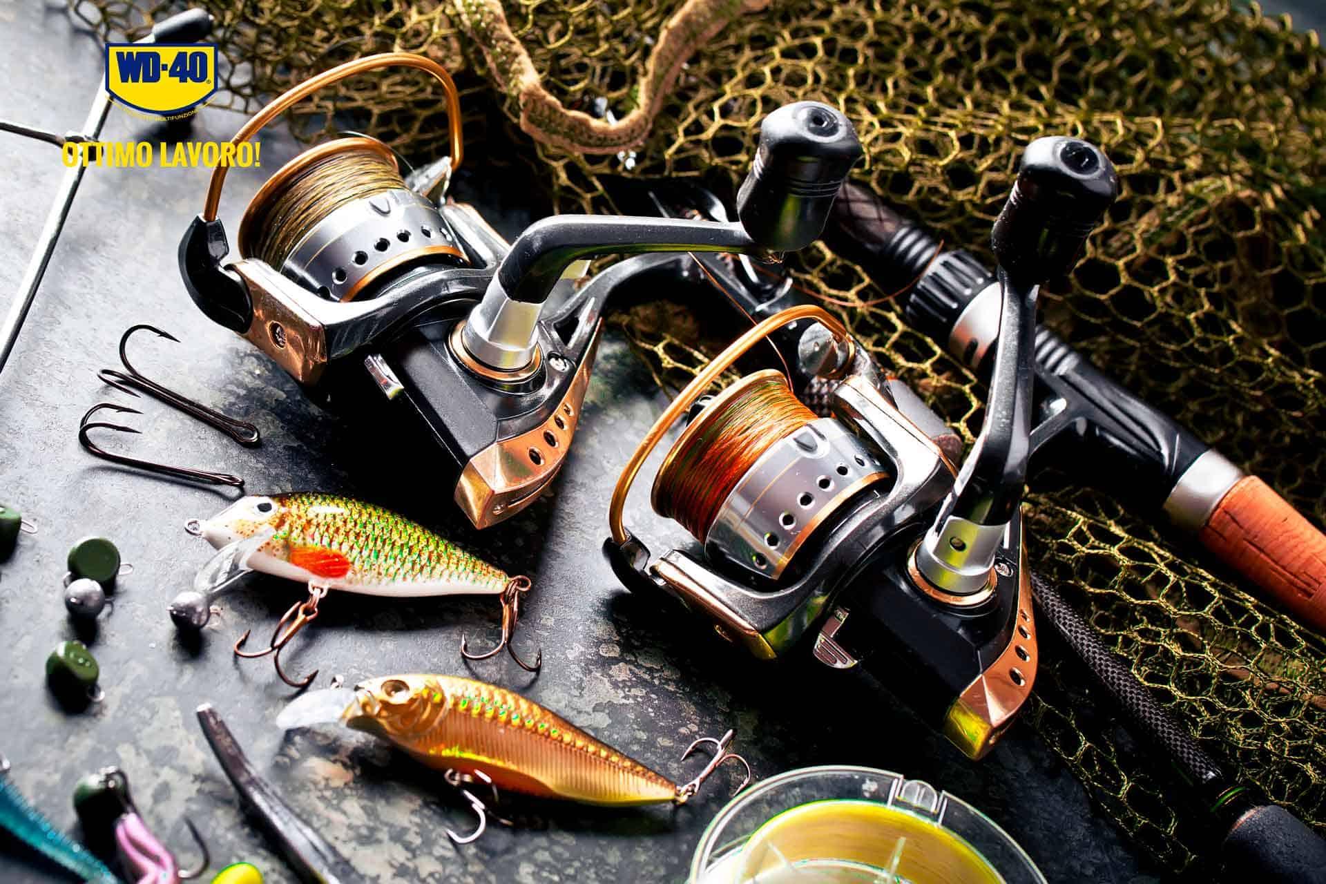 manutenzione canna da pesca