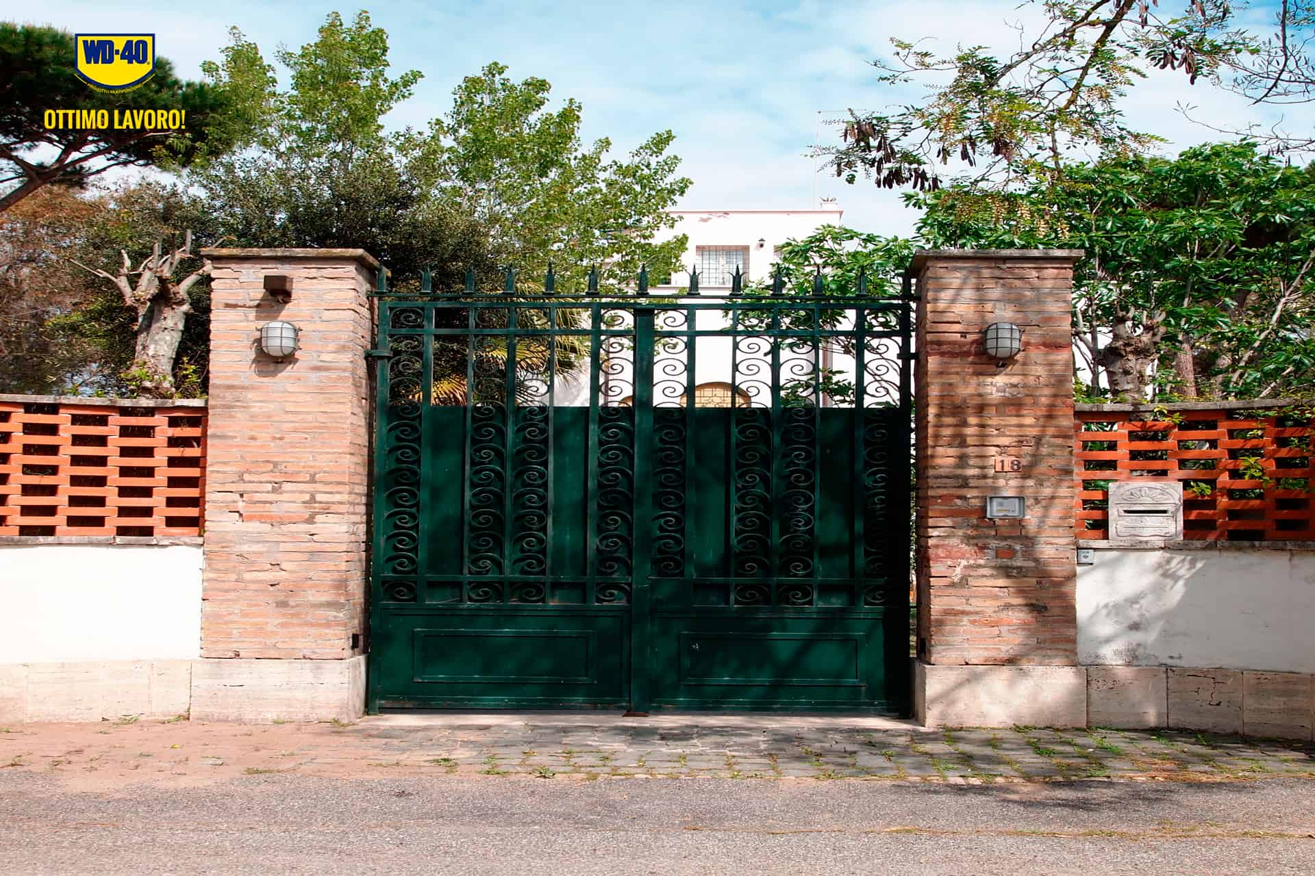 manutenzione del cancello