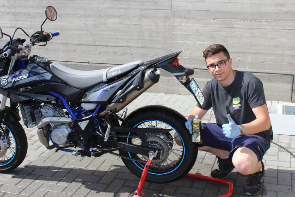 Manutenzione moto e bici