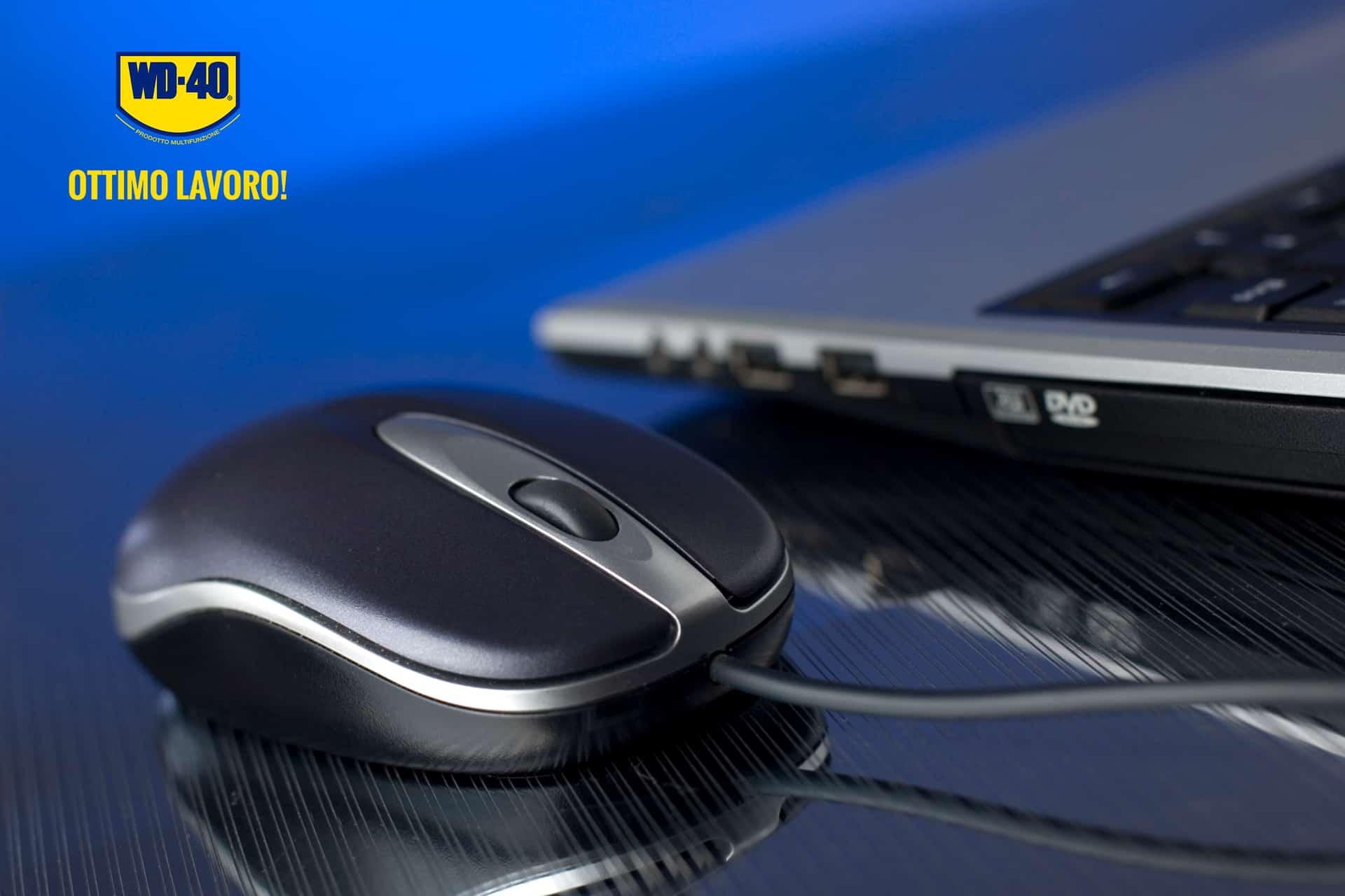 mouse non funziona