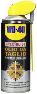 WD-40 Specialist Olio da Taglio: proprietà ed utilizzi
