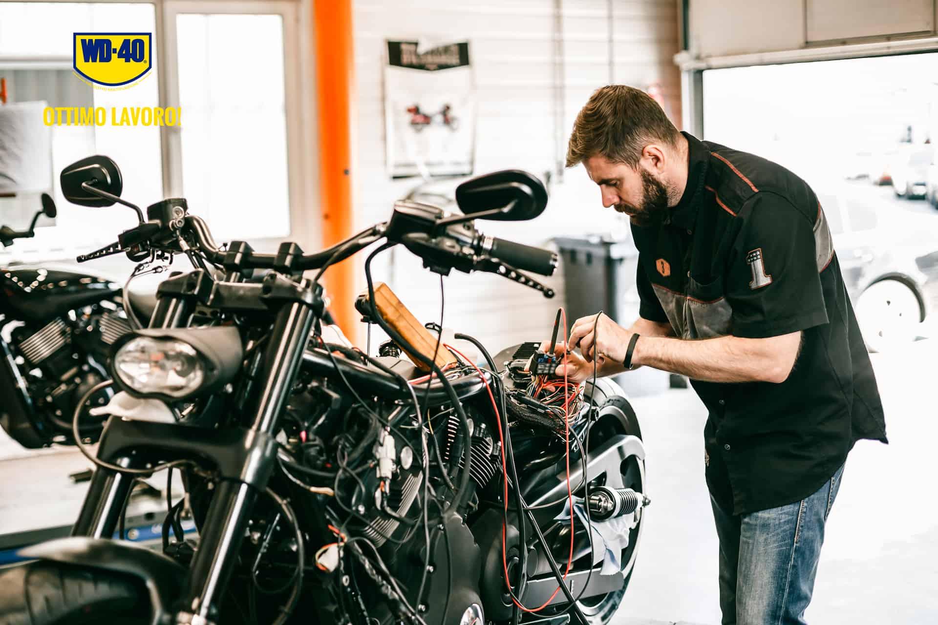 manutenzione batteria moto