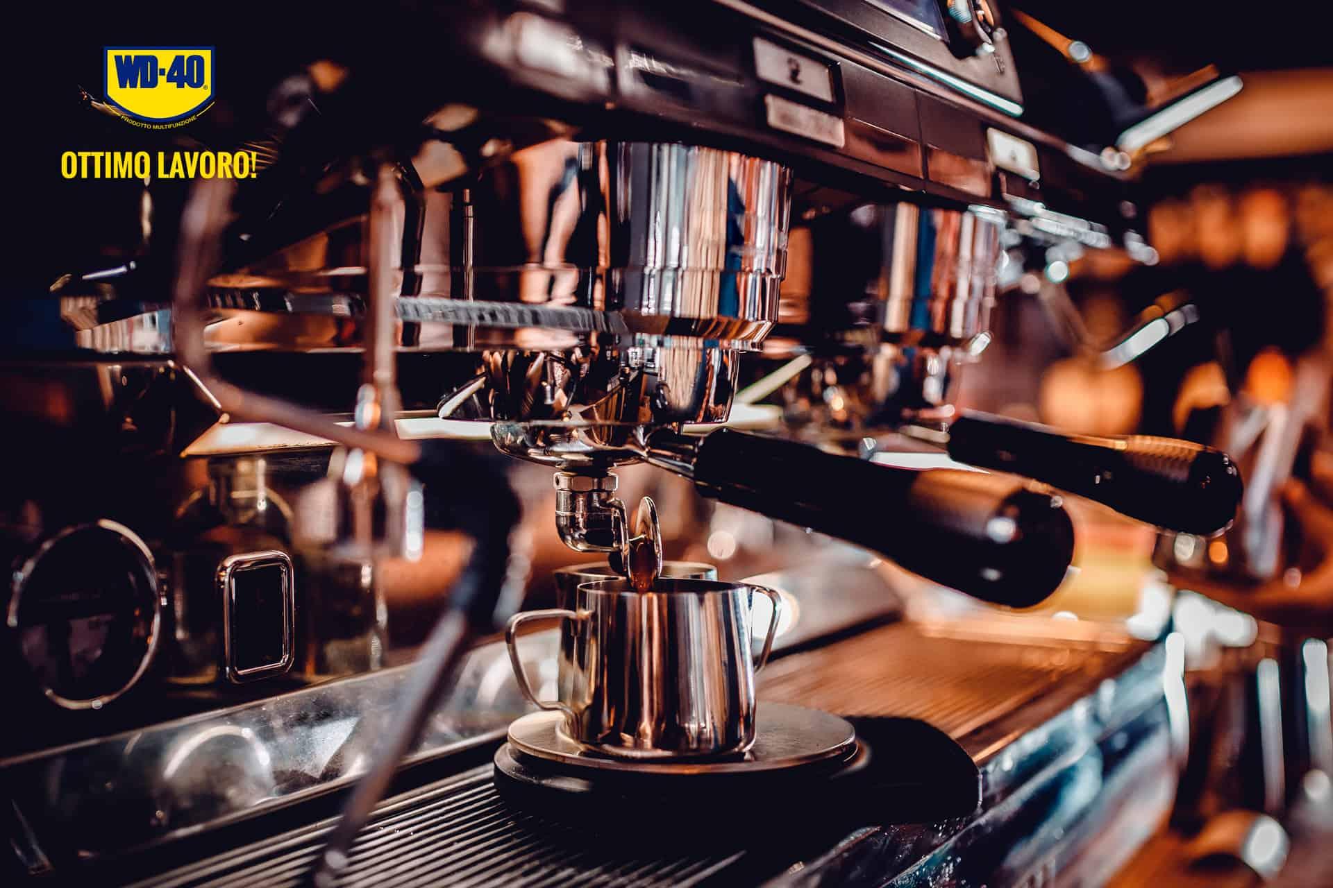 togliere macchie di caffe