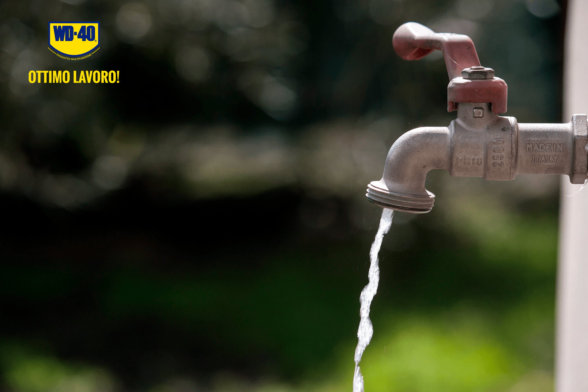 rubinetto bloccato