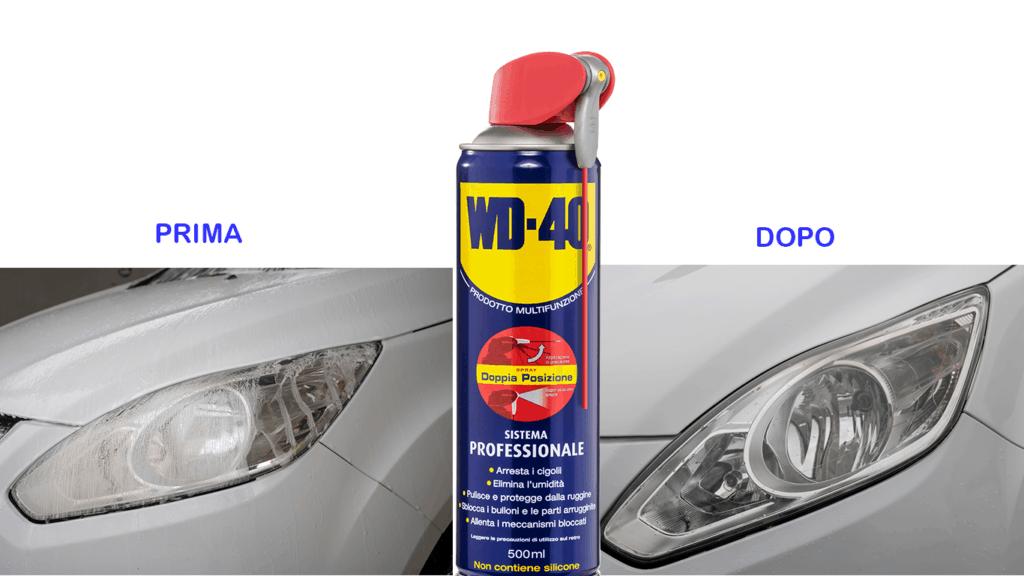 Come lucidare i fari auto opachi