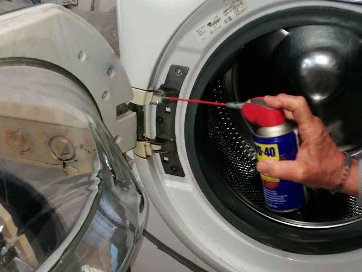come pulire la guarnizione della lavatrice5