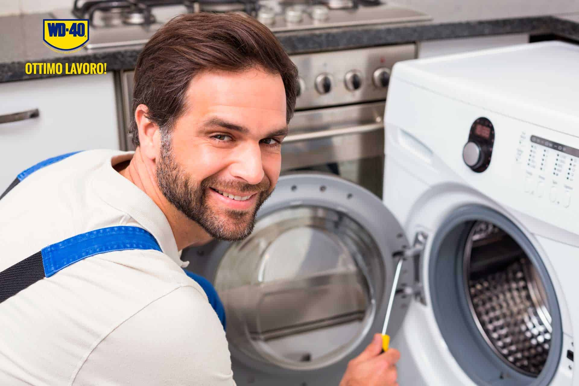 come pulire la guarnizione della lavatrice10