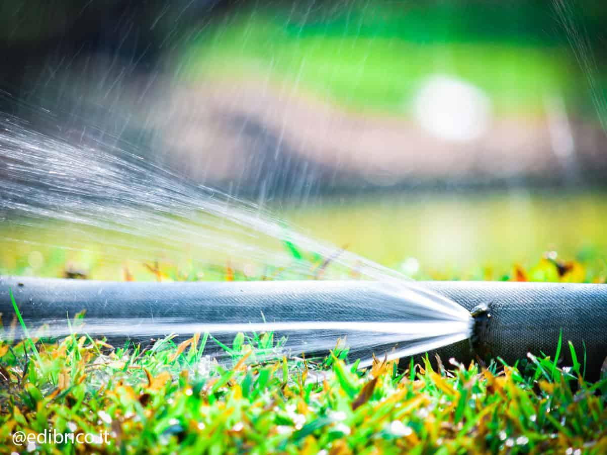 tubi per irrigazione