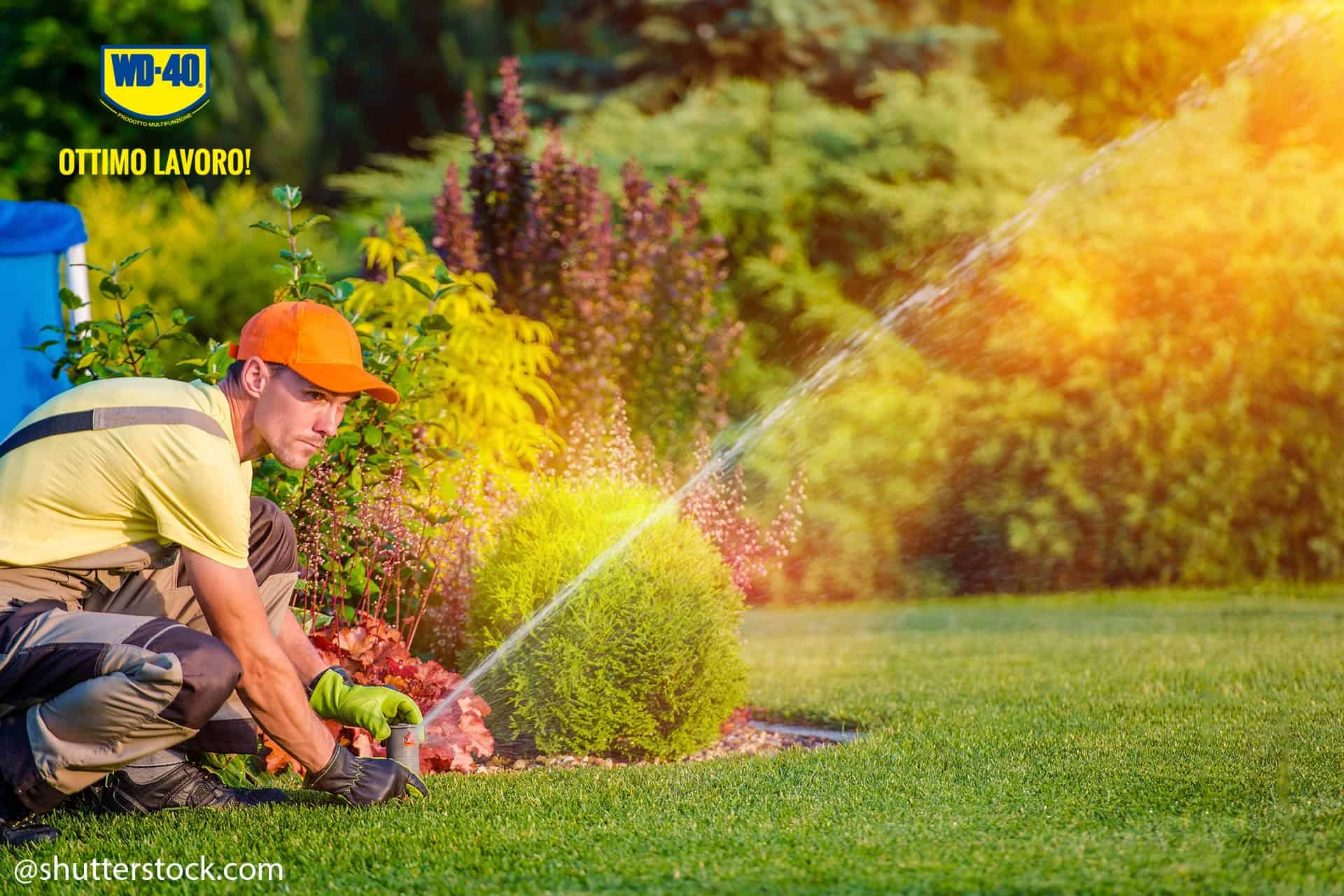 pulire irrigatori