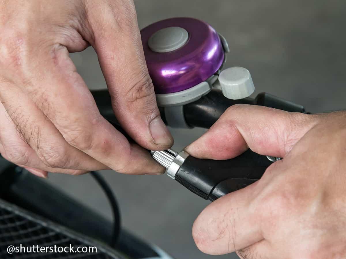 serraggio freni biciclatta