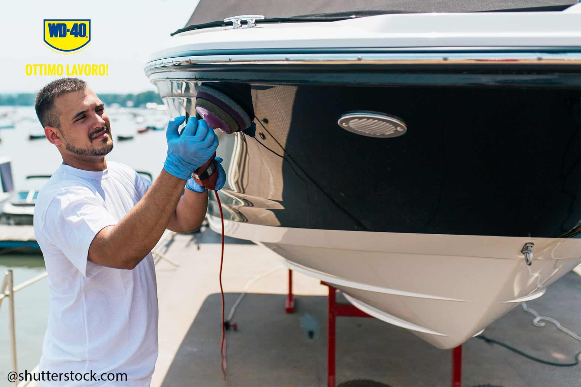 manutenzione barca vela