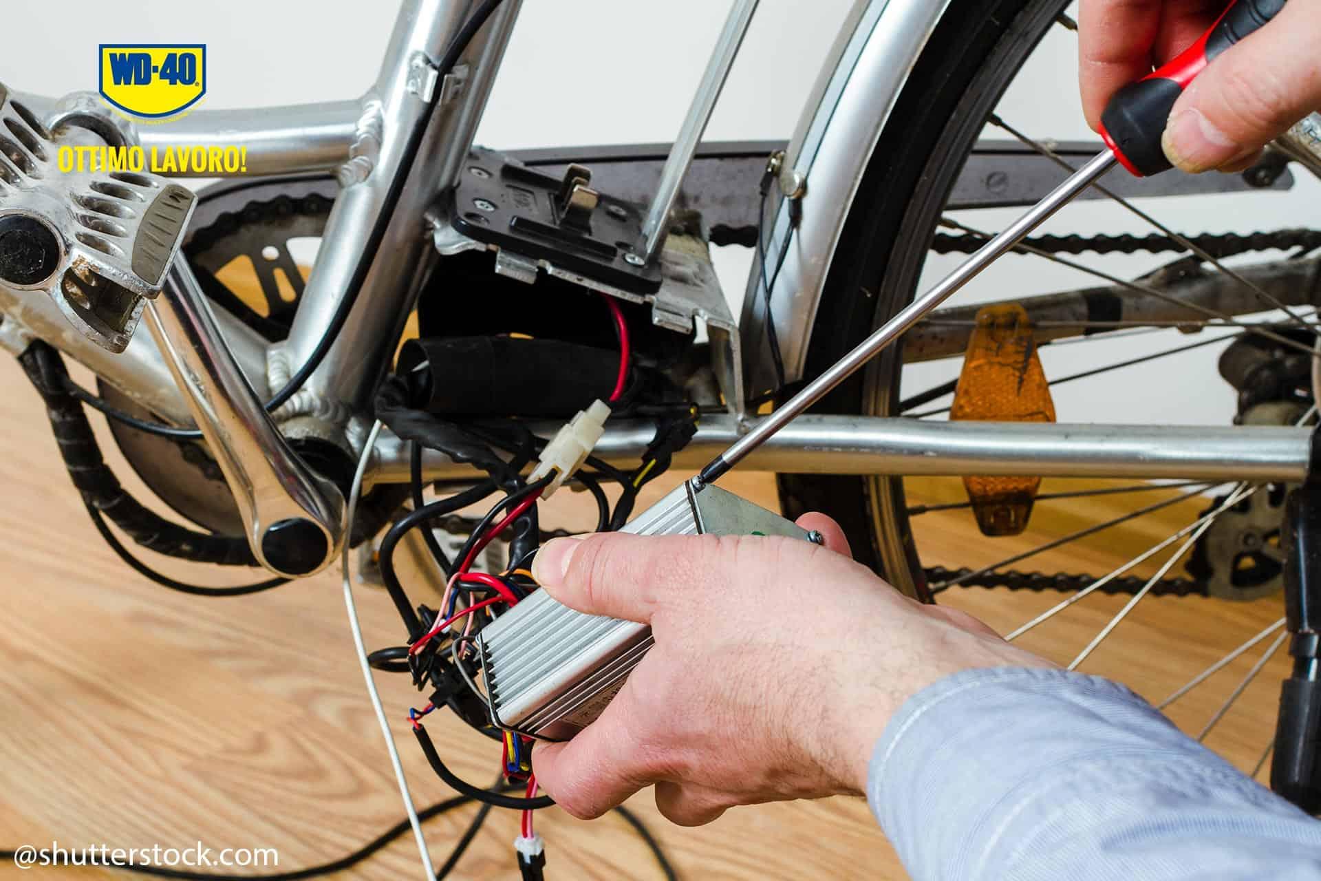 manutenzione batteria bici elettrica