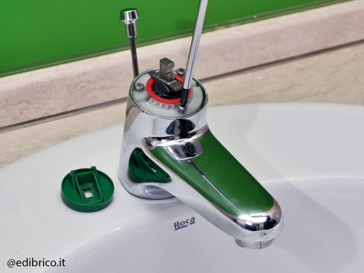 manutenzione rubinetto cartuccia monocomando