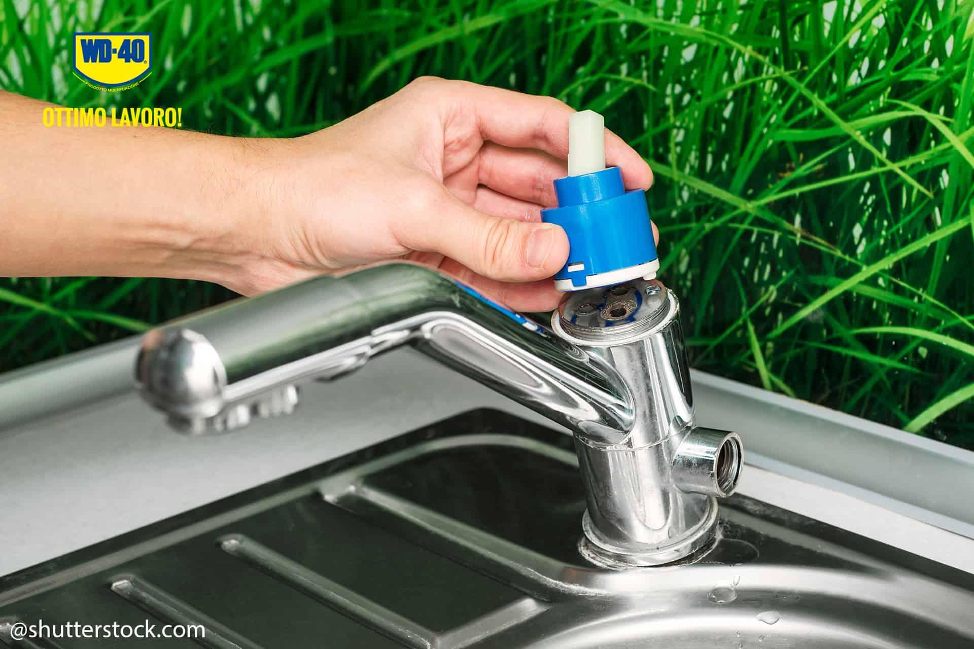 manutenzione rubinetto monocomando