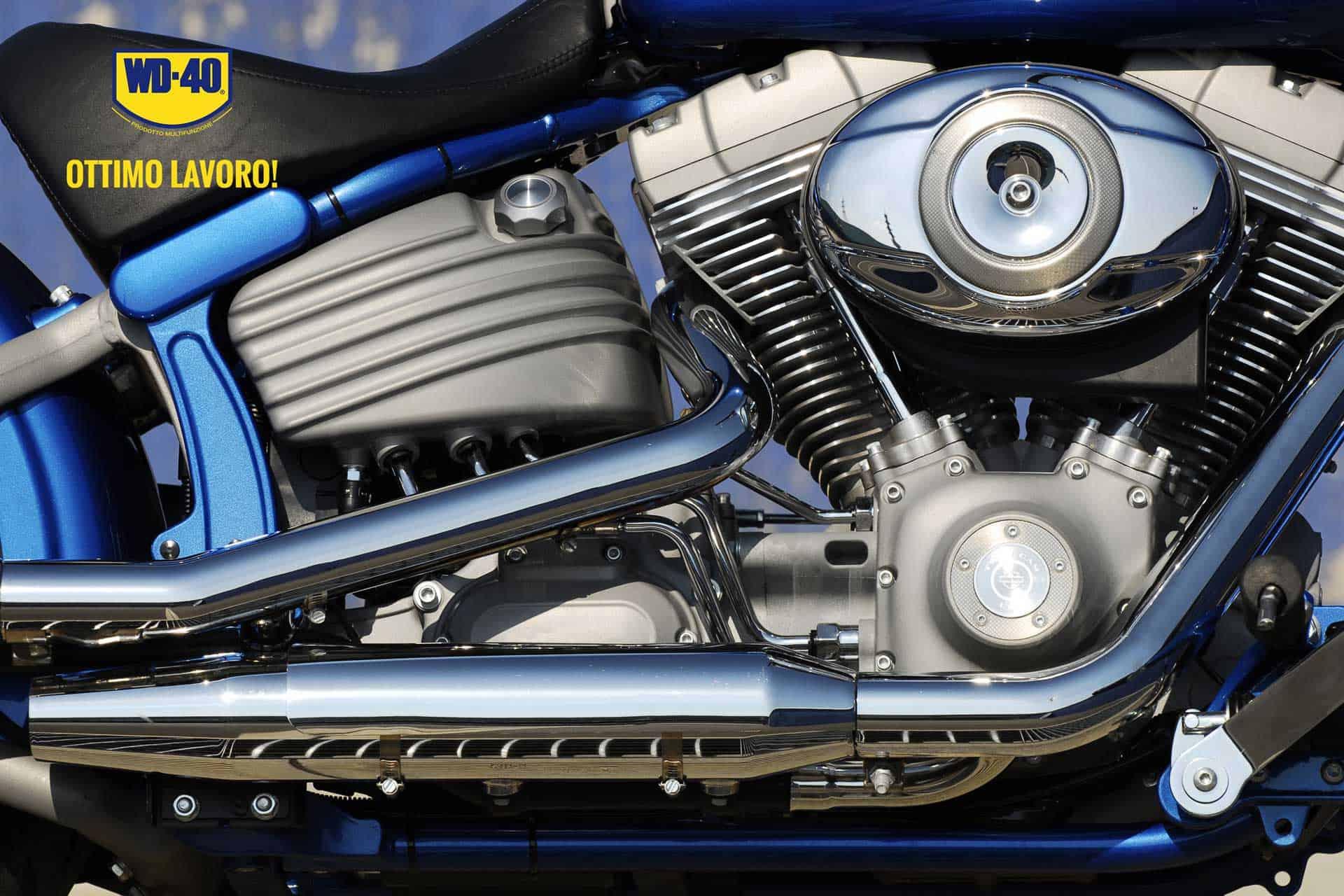 come pulire le cromature della moto