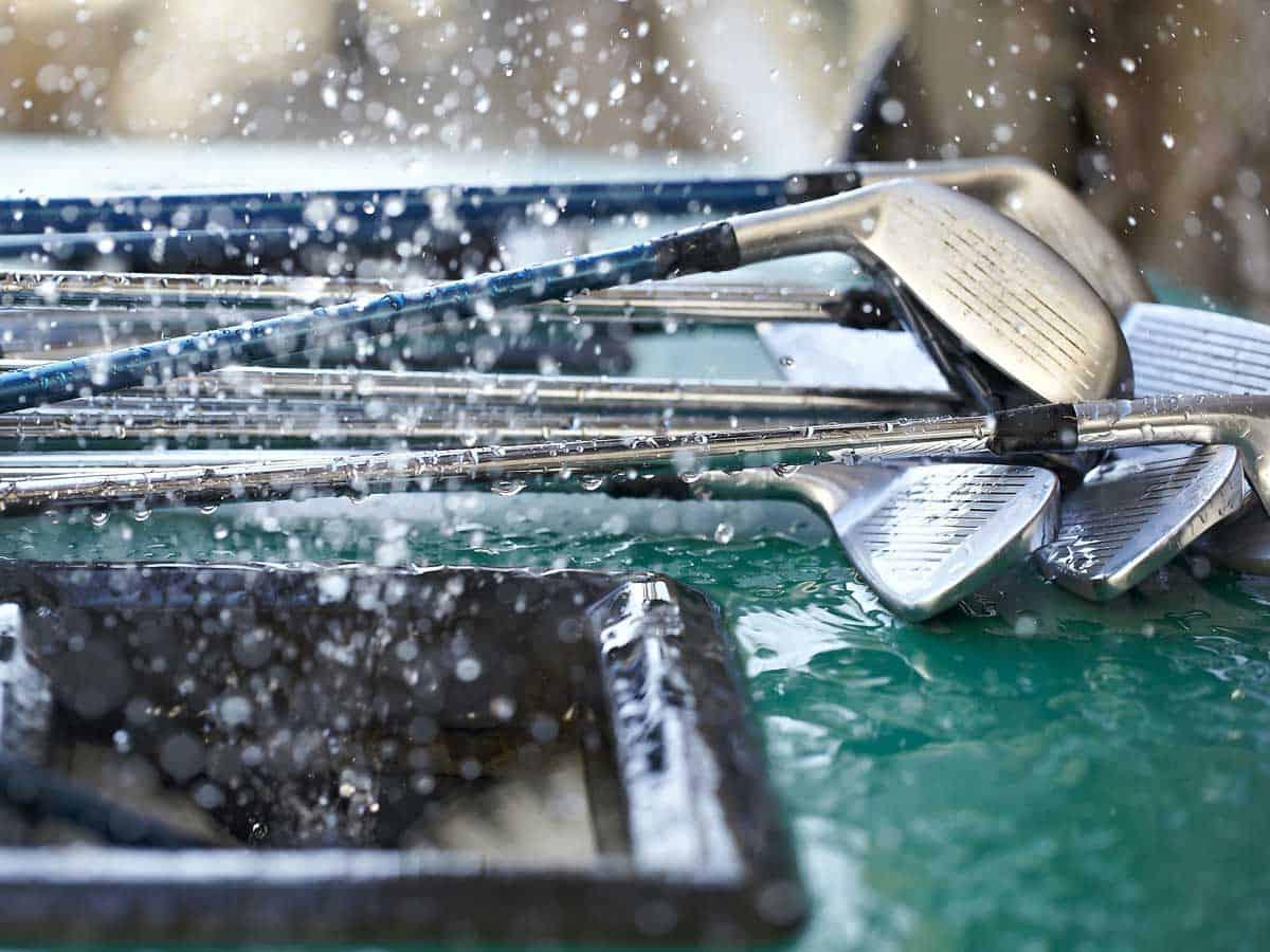 come pulire le mazze da golf 5