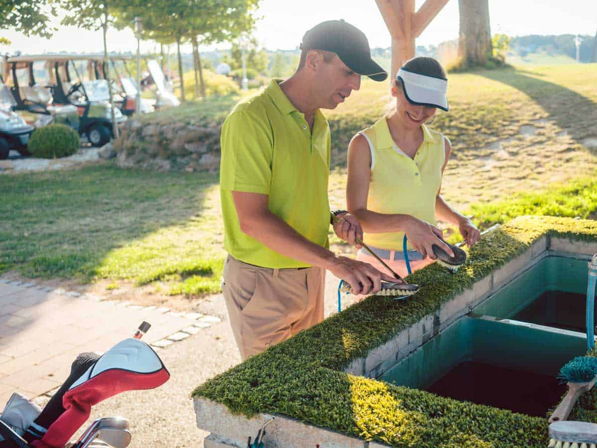 come pulire le mazze da golf 1