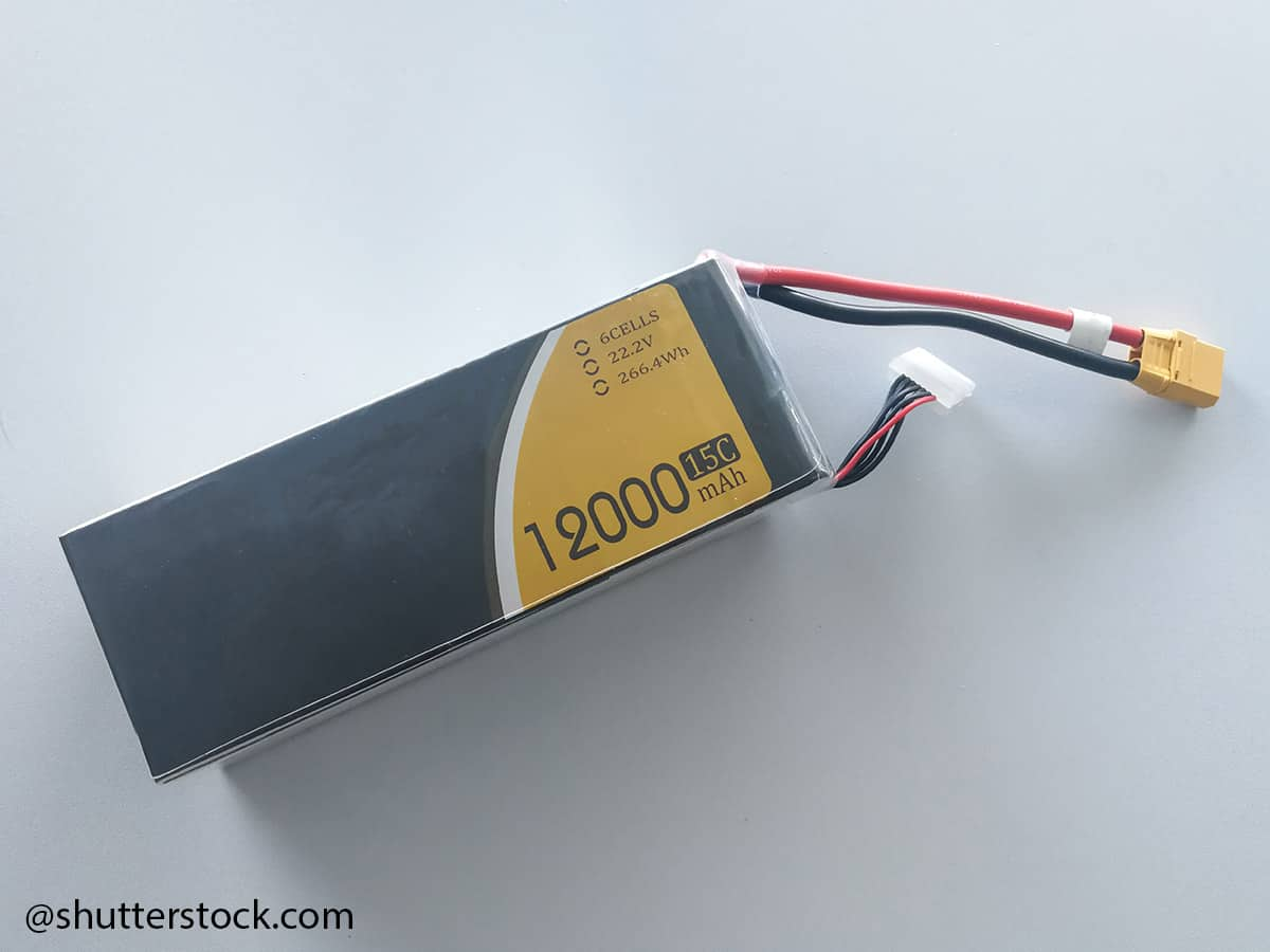 batterie droni