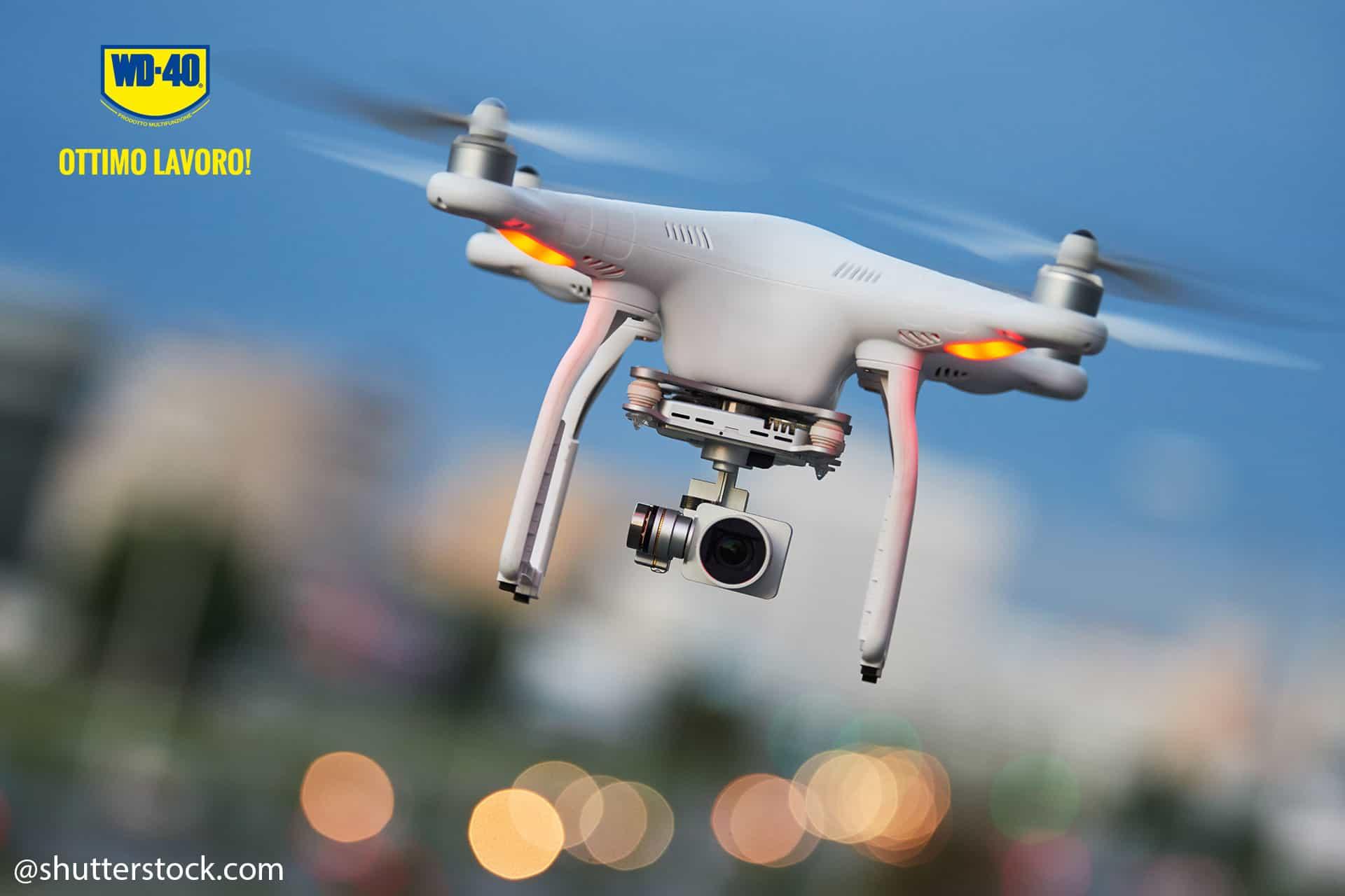 manutenzione drone