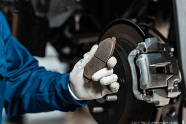change brake pads