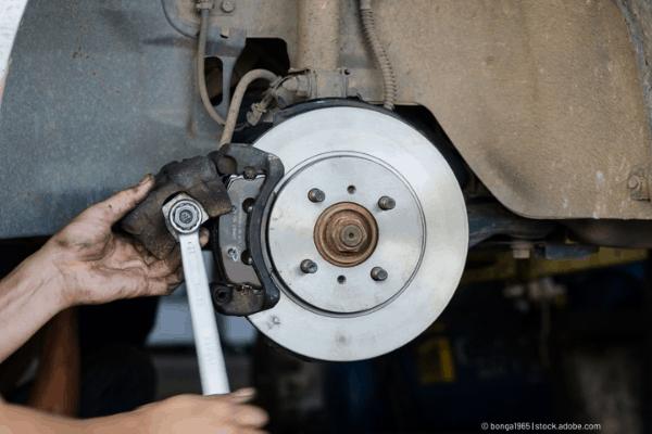 fix brake caliper