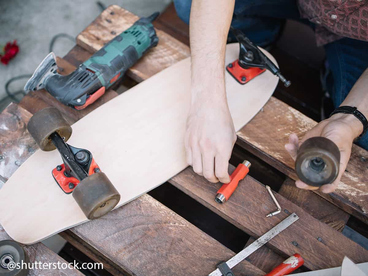 how to perform maintenance on your skateboard 3