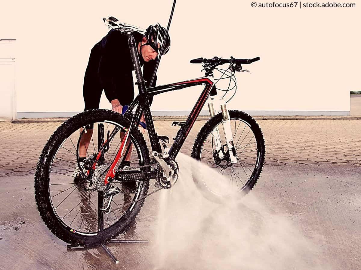 mouiller le vélo
