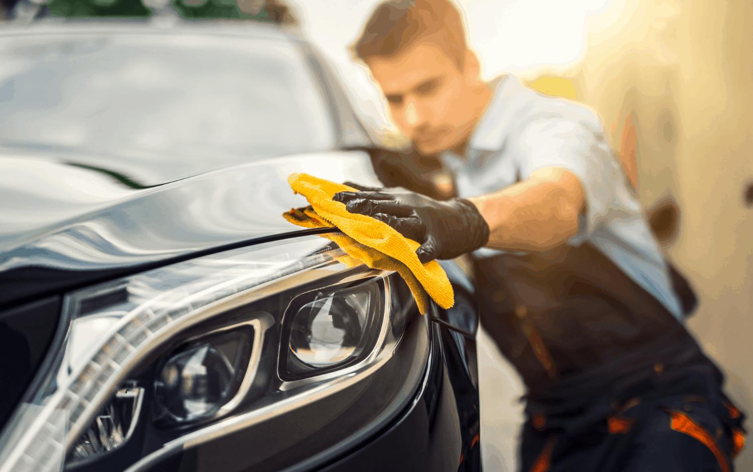 automašīnas tīrīšana