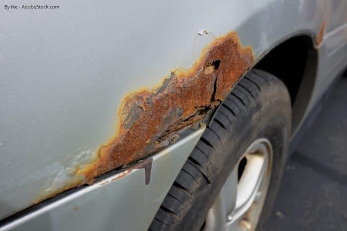 Rūsas novēršana automašīnai