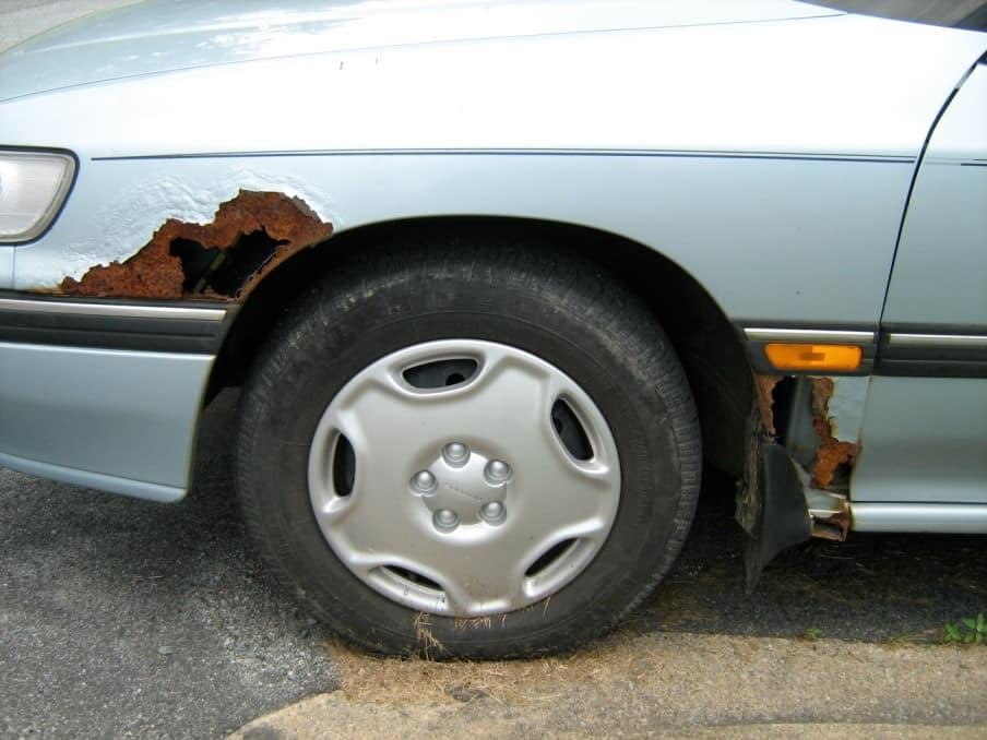 kā novērst rūsas veidošanos automašīnai