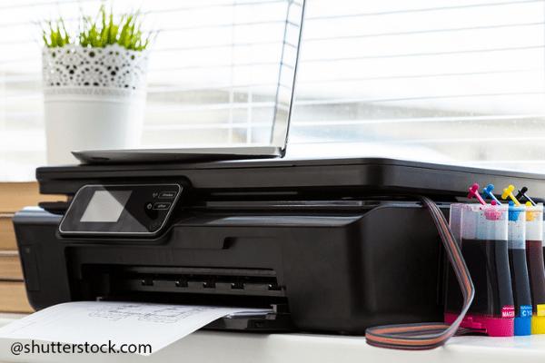 tīrīt tintes printera drukas galvas