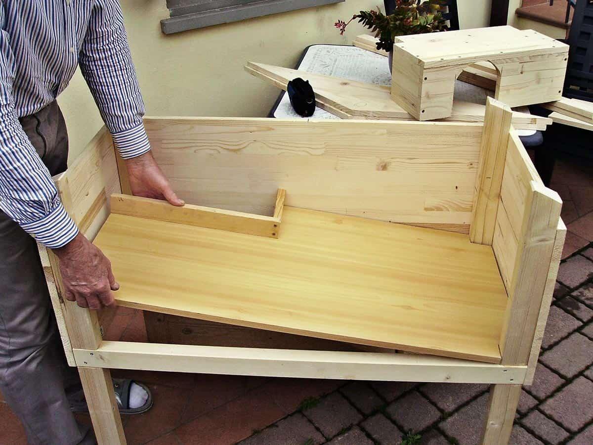 Kā uzbūvēt koka mājiņu trusim
