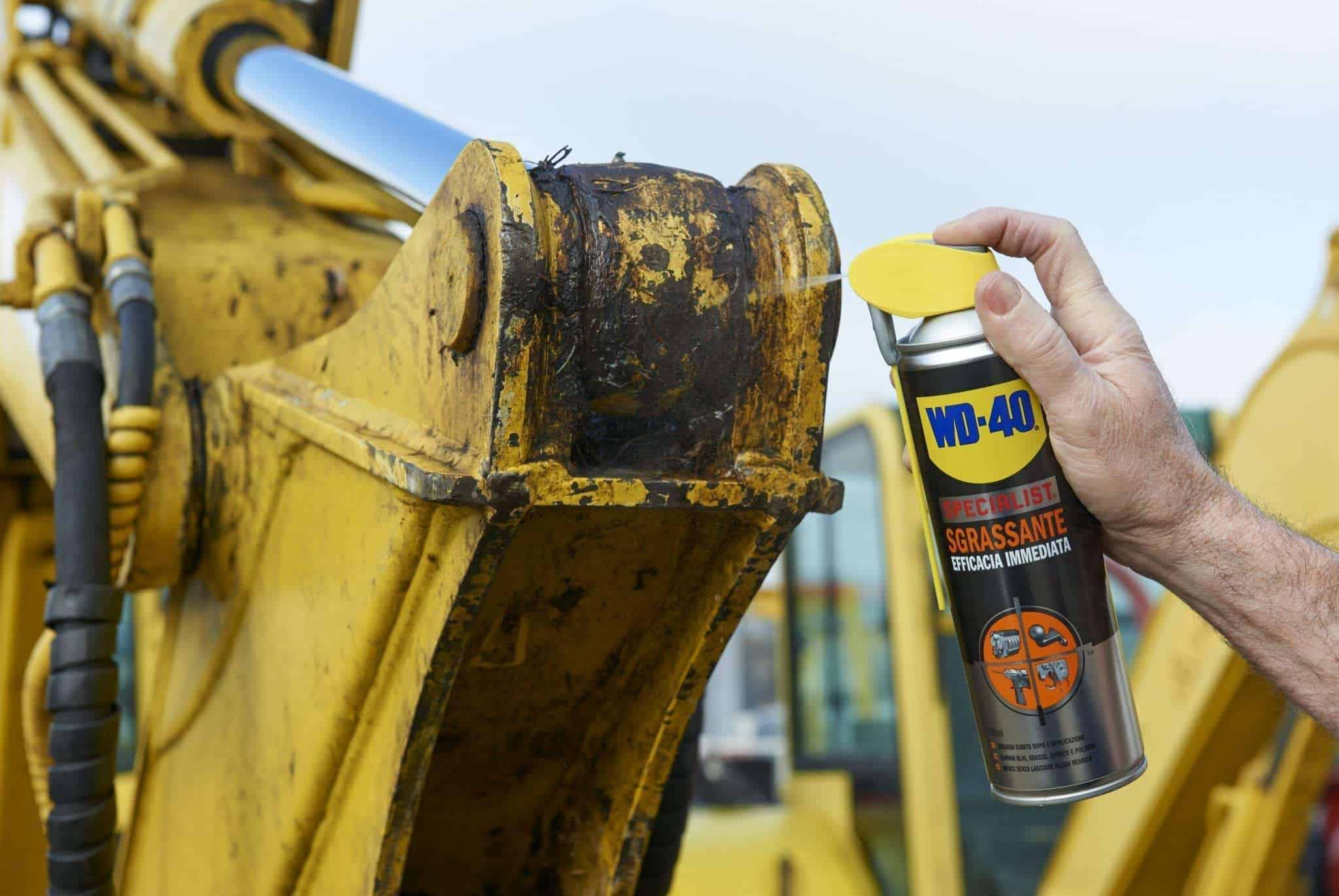 wd 40 machine reinigen super degraissant