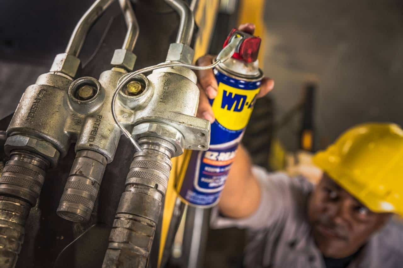 wd-40 flexible industrial application