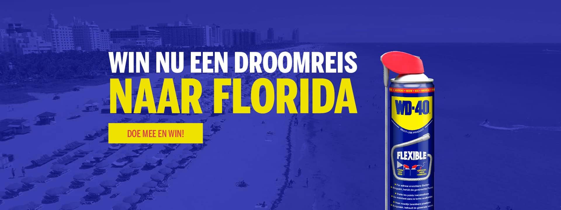 Win een droomreis naar Florida