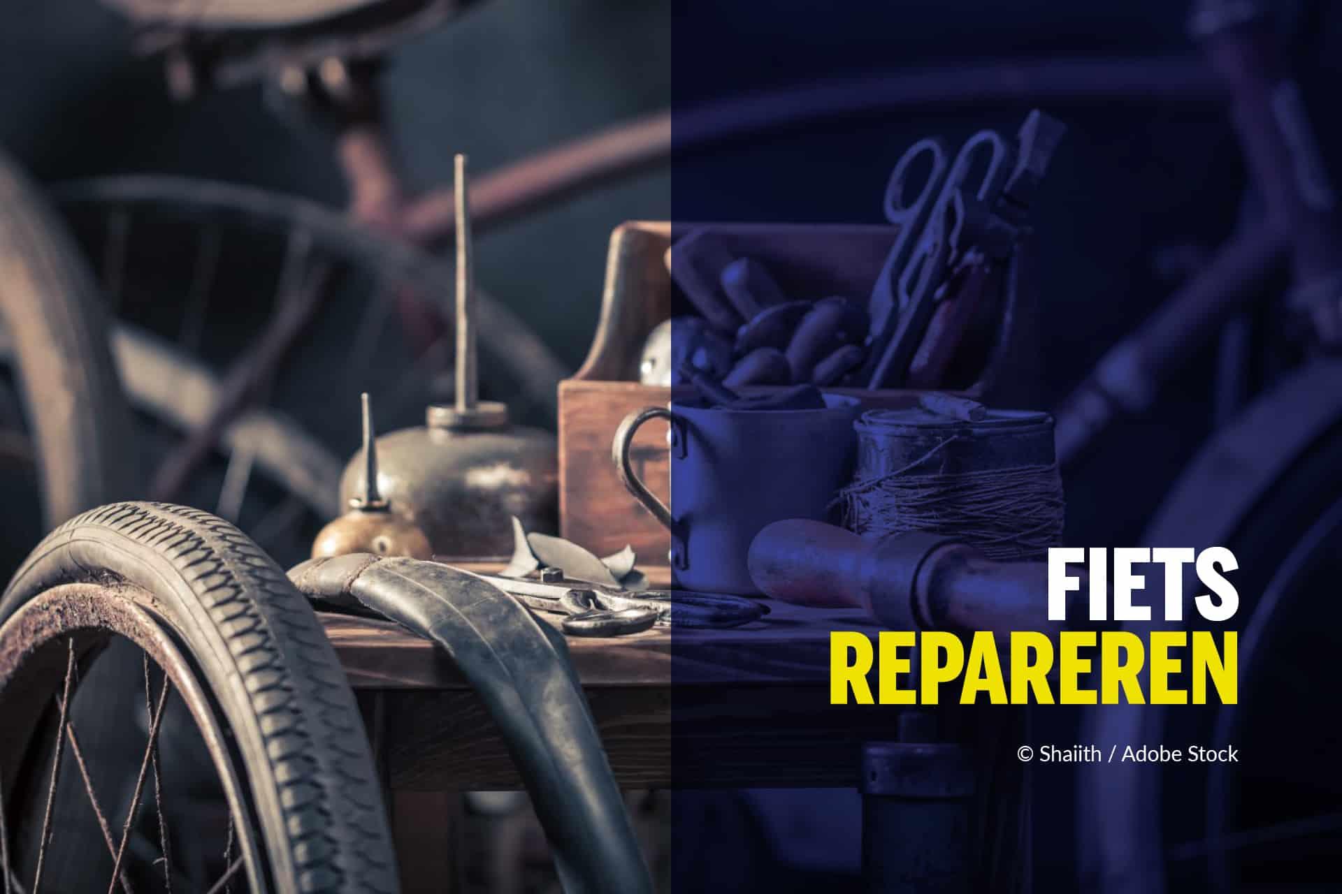Hoe repareer ik mijn fiets