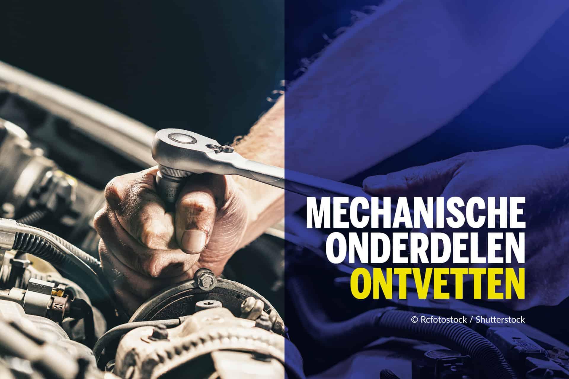Degraissage de pieces mecaniques