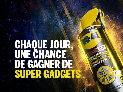 Batibouw jeu concours Super Gadgets