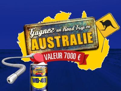 Gagnez un RoadTrip en Australie!